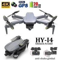 hy i4 gps drone with camera hd 4k wifi aerial photography remote control toys foldable dron brushless profesional quadcopter