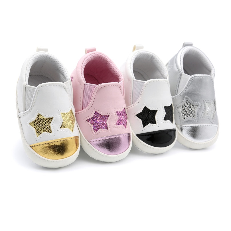 sweet pu baby girl shoes toddler infant anti slip polka dot pu first walkers shoes kids footwear shoes girls Baby Shoes Boy Girl Newborn Infant Toddler Casual Comfor Cotton Sole Anti-slip PU Leather Girls First Walkers Crawl Crib Shoes