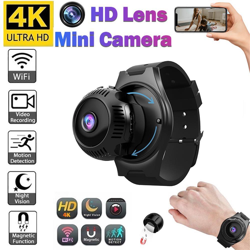 Minicámara 4K HD IP, Wifi X7, visión nocturna, Microsensor De movimiento, cámaras...