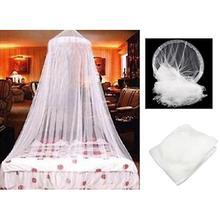 Mosquitera colgante interior mosquitera elegante clásica romántica dulce princesa estudiantes redonda cama de insectos cortina de red # xin