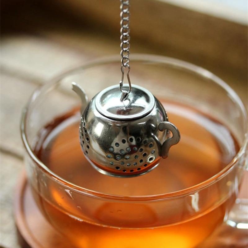 304 acier inoxydable thé crépines théière pour infuseur à thé thé accessoires outils tasses Mate Zaparzacze Do Herbaty Cocina Novedosos