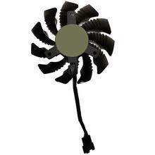 P104 remplacement 75MM 4Pin vidéo carte graphique refroidisseur ventilateur pour Gigabyte HD 6850 7970 460 GTX560Ti R270X AMD R7 260x