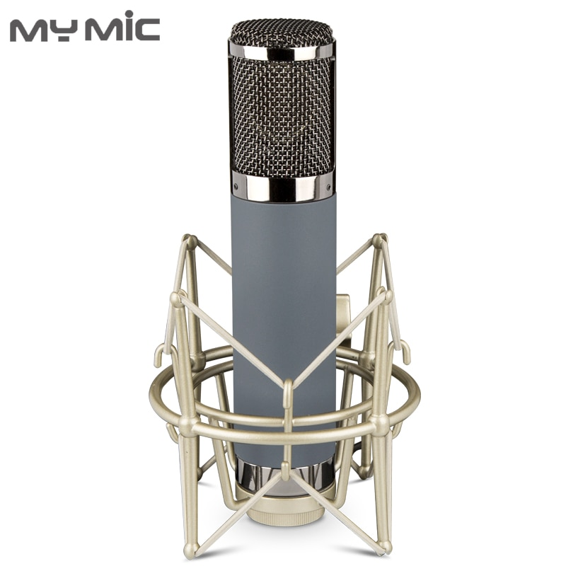 My Mic-ME2 عالي الجودة ، مكثف غشائي كبير ، تسجيل استوديو ، ميكروفون ، ألعاب للبث الصوتي