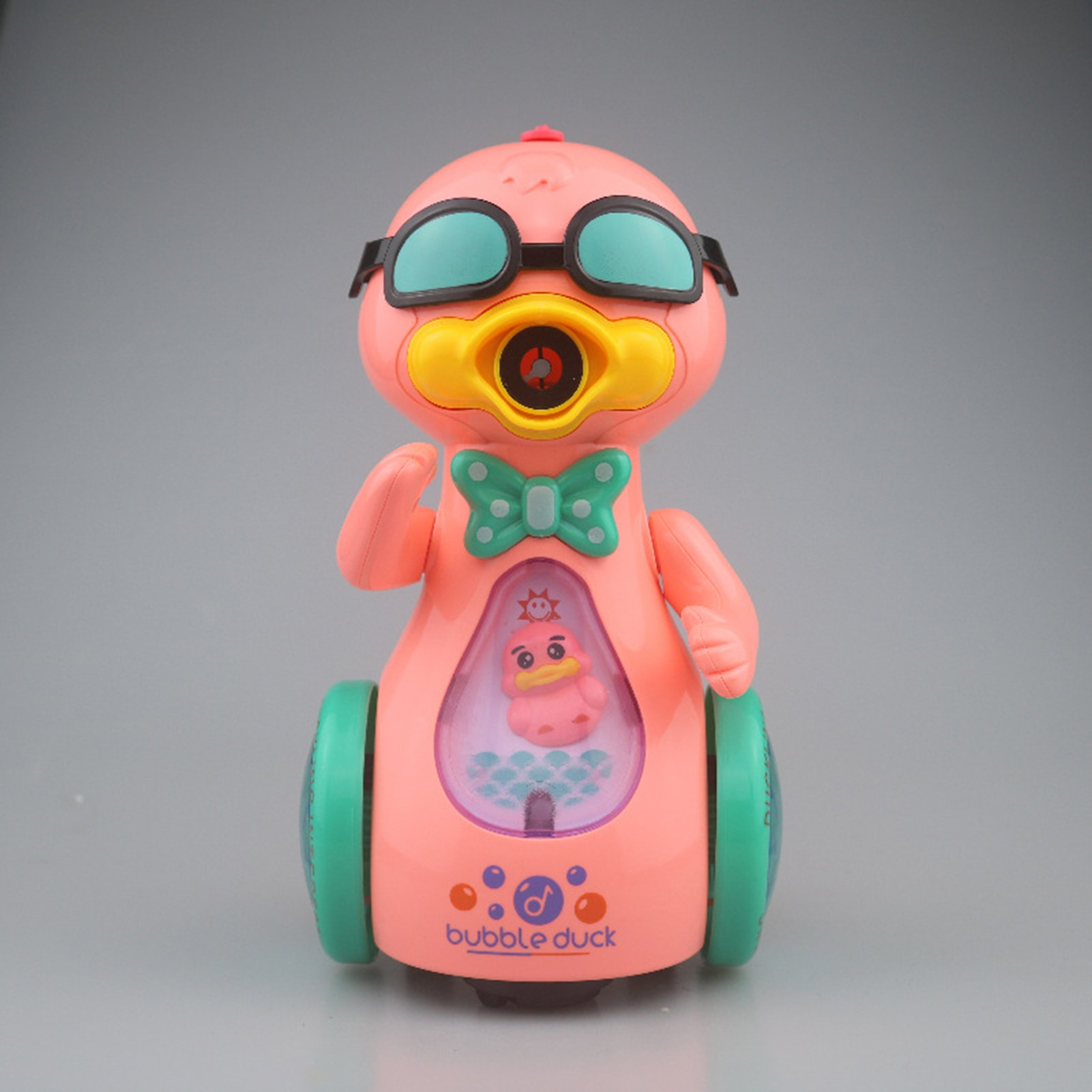Cute Duck Bubble Machine For Kids Toy With Music Light Automatic Walkable Soap Water Bubble Blower Gun Outdoor Toys  - buy with discount