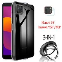 Y5P Y6P Kamera Film, ultra-Klar TPU hülle Huawei Y5 P Y5P Y6P 2020 Honor 9S Weiche Silikon Abdeckung Honor 9 S handyhülle Huawei-Y5P Y6 P Case