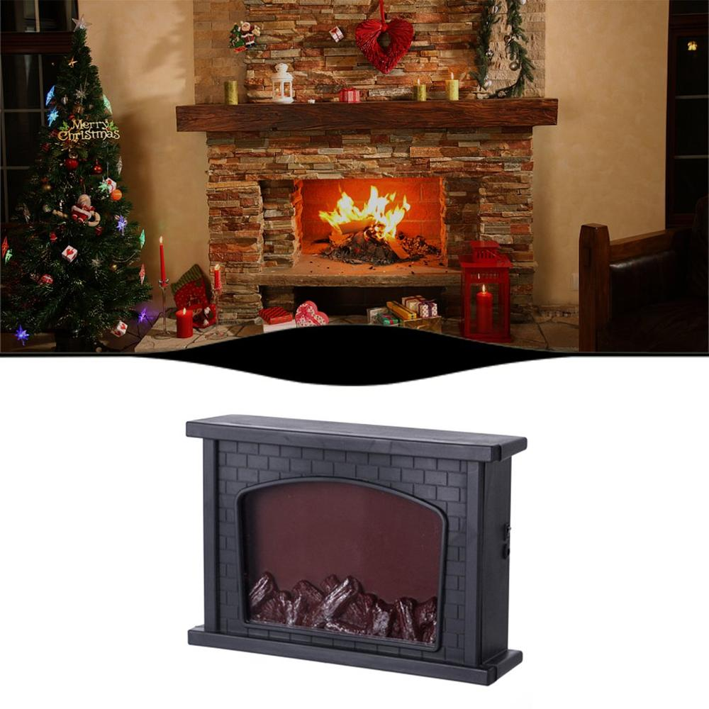 Creative Home Fireplace Lamp LED Flame Lantern Lamps Flame Lamp Simulated Fireplace LED Flame Living Room New Year Home Decor