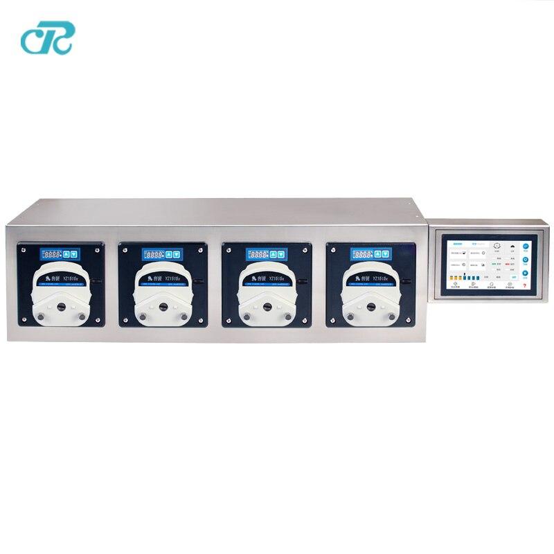 Vaccine Dispensing Peristaltic Pump Filling System For Filling Bottle enlarge