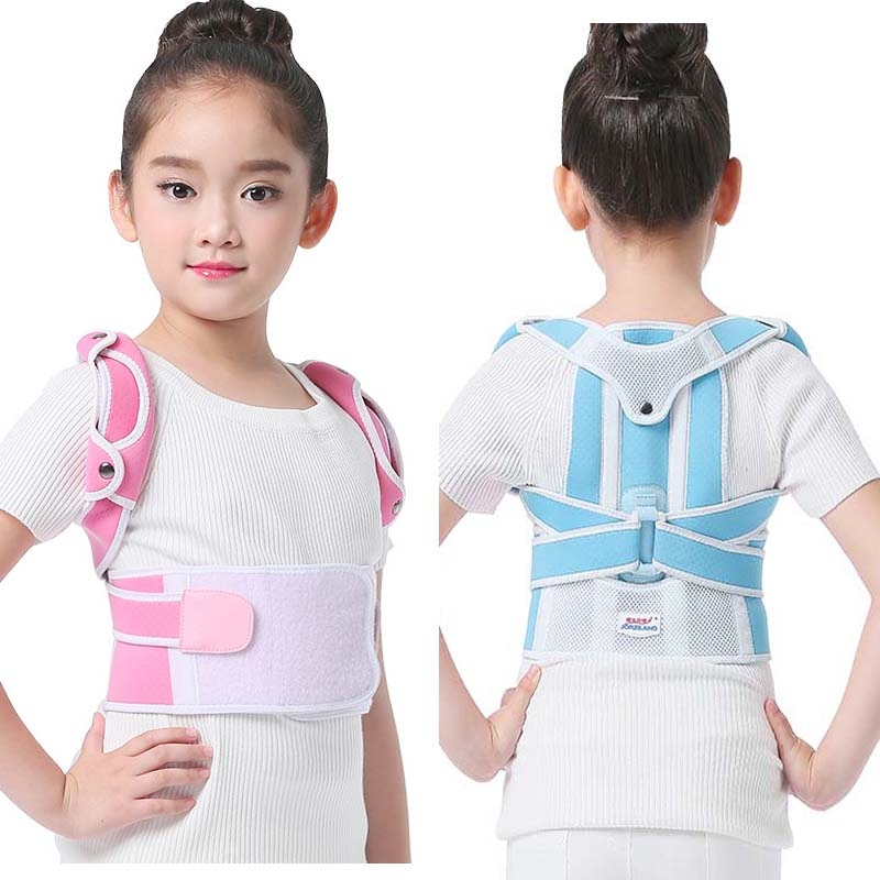 Kids Humpback Correction Belt Posture Corrector Shoulder Spine Back Brace Support Belt Corset For Kid Children Girl Boy Students