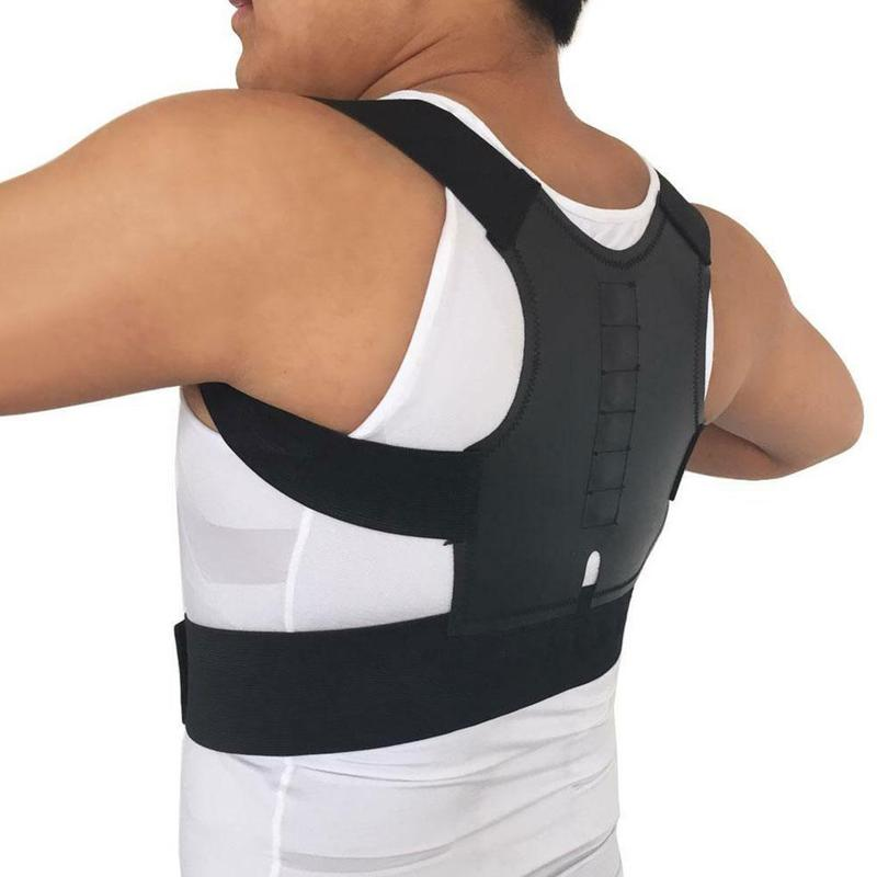 Corrector Back Straight Brace Belt Magnetic Posture Corrective Therapy Corset Lumbar Support Straigh