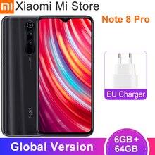 "In Stock Global Version Xiaomi Redmi Note 8 Pro 6GB 64GB Smartphone 64MP Cameras 6.53""Helio G90T Octa Core 4500mAh Battery NFC"