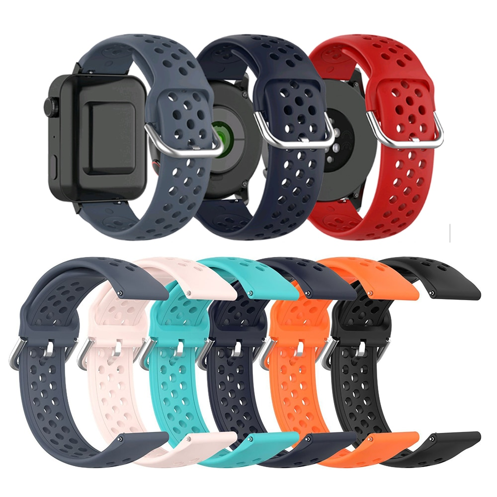 Replacement Soft Silicone Sports Bracelet Strap Watch Band For Pebble Time watchband Wrist For ZTE Q