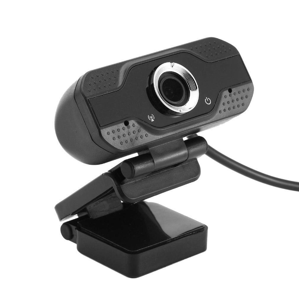 Webcam 1080P Hd cámara Web con micrófono Usb Webcam para Pc 30 Fps ordenador y portátil transmisión en vivo Video conferencia trabajo
