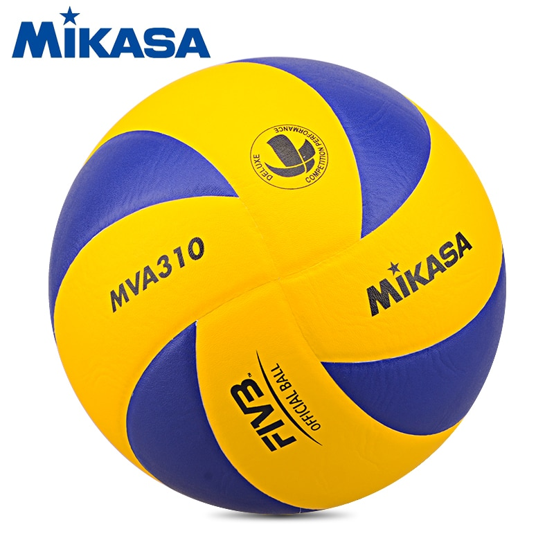 Original Mikasa Volleyball MVA310 FIVB Approved Professional Game Ball for the FIVB Official Volleyball