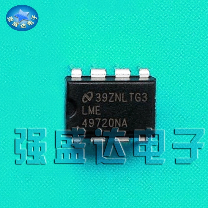 2019 promoción de venta directa 100% nuevo y original LME49720NA 49720NA Audio de doble liberación DIP-8 amplificador
