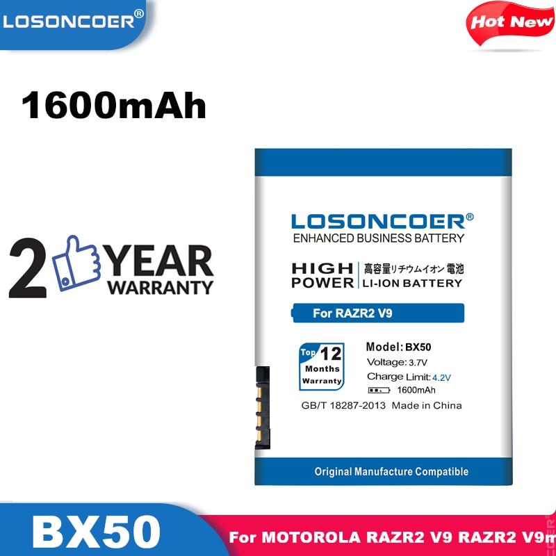 LOSONCOER BX40 BX50 мобильный телефон аккумулятор для Motorola MOTO U8,MOTO U9,MOTO V10,MOTOZINE ZN5,PEBL2 U9, RAZR2 V9M,V8,V9 батареи
