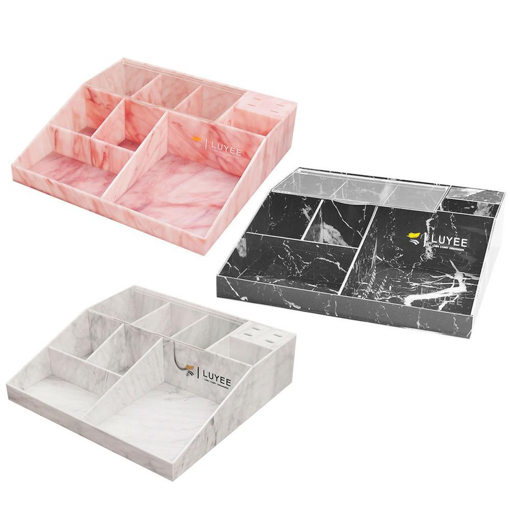3 ألوان متعددة شبكة رمش الجمال المنظم سعة كبيرة رمش ملحق تخزين الغبار واقية سطح المكتب تخزين أداة