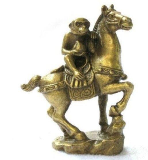 YM 308 Pequenas Coleções Brass Monkey & Estátuas de Cavalos