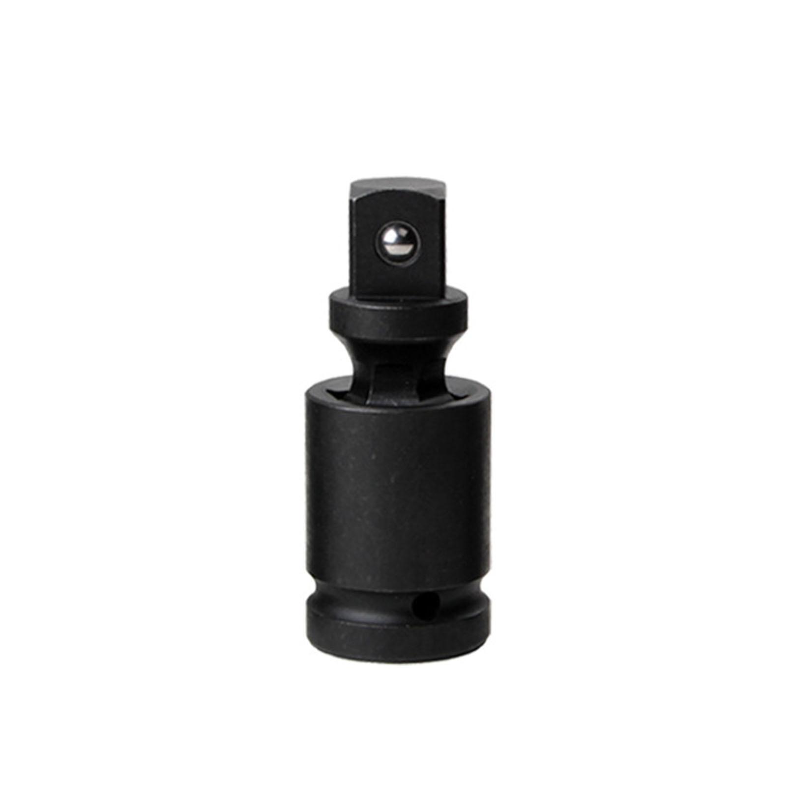 Drive adaptador durável impacto universal extensão conjunta chave pneumática à prova de ferrugem giratória tomada oscilação 360 graus chrome moly