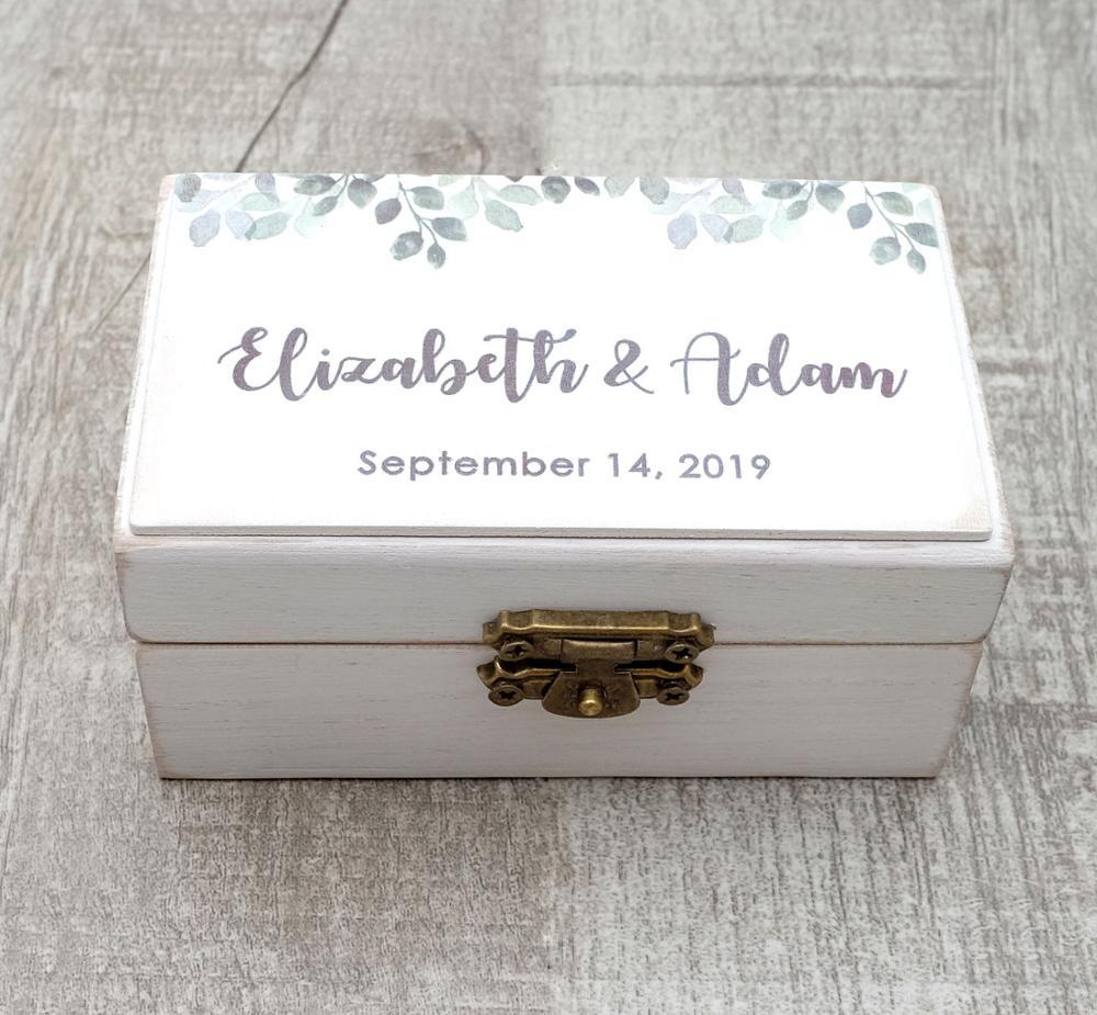 Коробка для обручального кольца на заказ, коробка для обручального кольца с листьями, коробка для обручального кольца, коробка для обручаль...