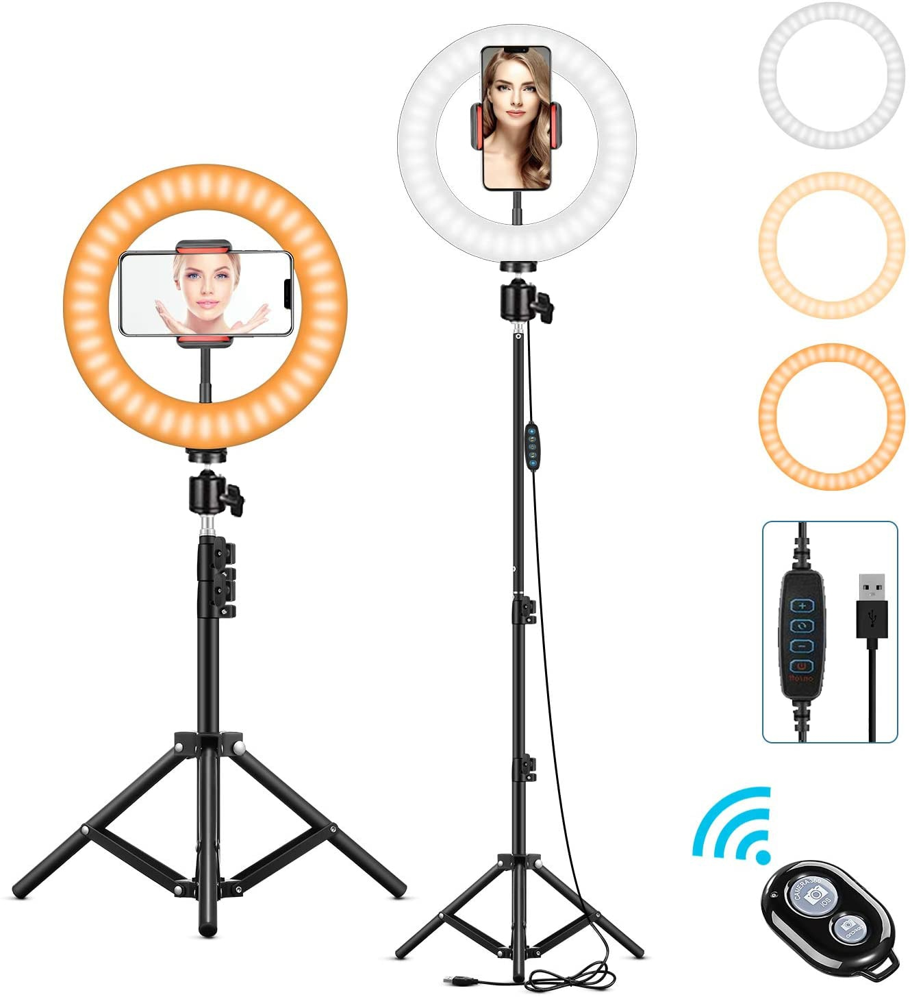 l116t camera light photo studio light photography lighting led video light charger for canon nikon camera dv camcorder LED Photography Fill Lighting with Tripod Stand Camera Photo Studio Circle Led Selfie Ring Light Phone Lamp Video  Youtube