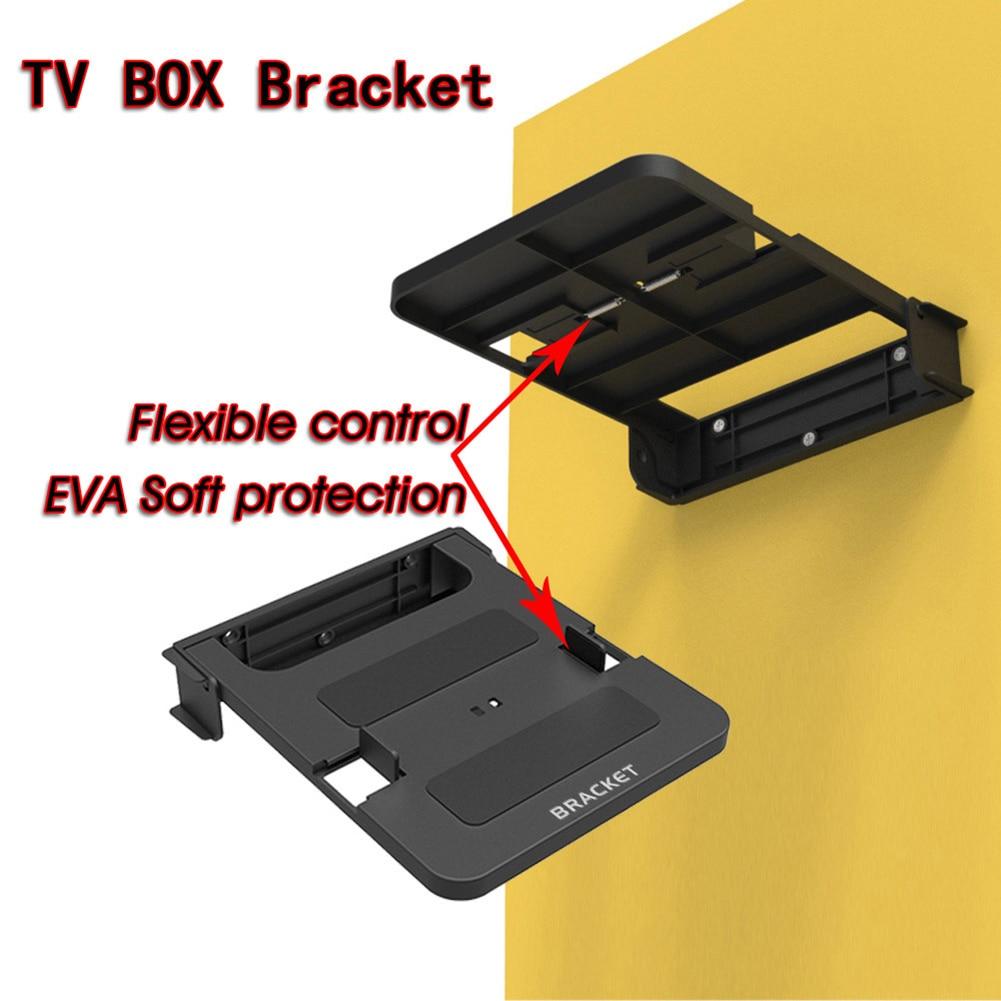 Универсальная смарт-ТВ-приставка 100-138 мм, подставка для DVD ТВ, ТВ-приставка, крепление держателя, крепление для маршрутизатора, настенный кронштейн, стойки, устойчивый