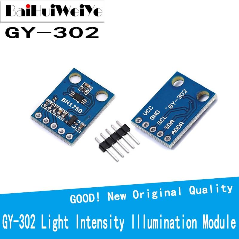 GY-302 BH1750 BH1750FVI light intensity illumination module 3V-5V New Original Good Quality