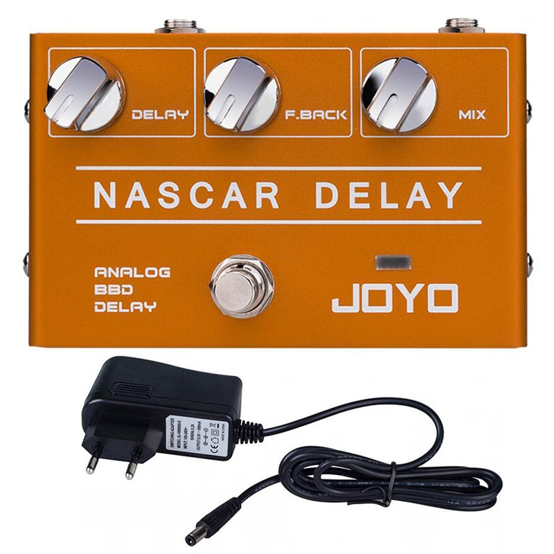 JOYO R-10 NARCARAnalogDelayPedal ClassicBBD Vintagefor Electric Guitar Musical Sound Mixer Double Bass Drum Pedal Delay enlarge