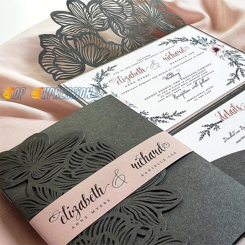 Flores de corte de Metal de encaje troquelado artesanía de borde de boda nuevo 2019 para hacer tarjetas de papel diy sellos y muere