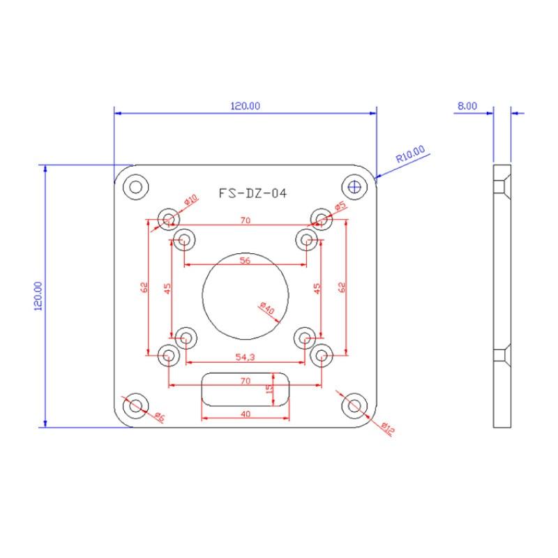 Router in alluminio inserto da tavolo piastra per la lavorazione del - Attrezzature per la lavorazione del legno - Fotografia 6