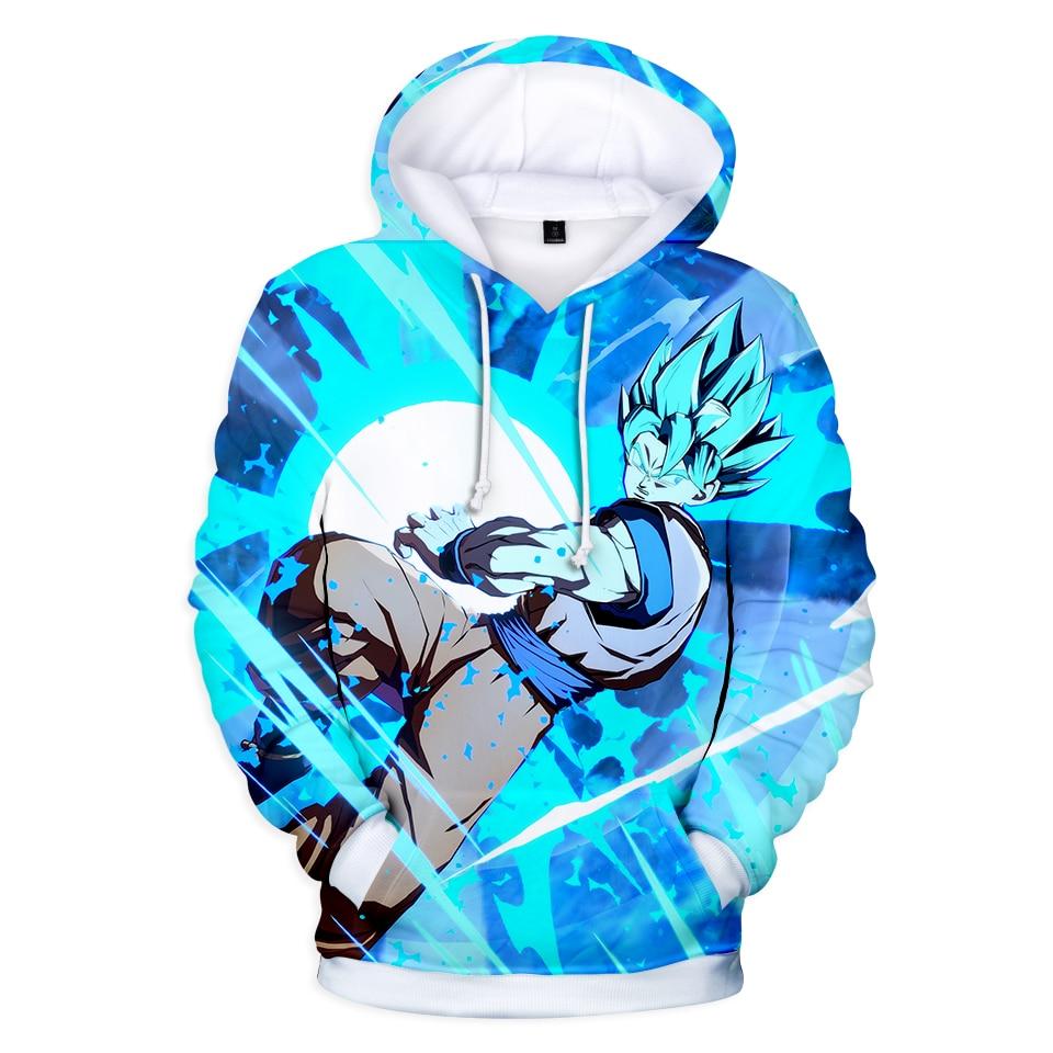 Prowow dragon ball com capuz anime hoodies moletom moletom miúdo goku 3d hoodies pullovers das mulheres dos homens streetwear hoodie harajuku topo