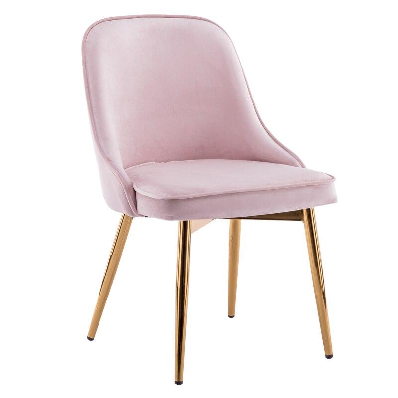 Silla moderna, simple, informal, nórdico, escritorio de restaurante hotel, banco de casa, silla de comedor de madera sólida, respaldo