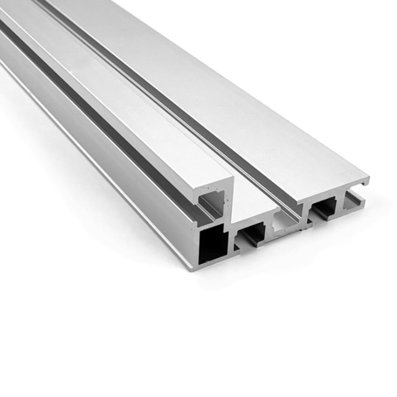 T-Track, 75 Model T-Slot Aluminium Miter Track Jig Fixture Slot, 300mm 400mm 500mm 600mm 800 mm