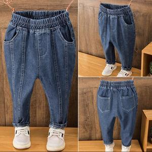 Kid Pants For Boys Pant Spring Autumn Kids Pants Casual Kids Clothes Boys Clothing For 2-6 Years blue boys jeans