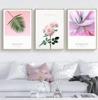 Affiche nordique plante Cactus fleur citation langue dimpression Style minimaliste Art deco toile murale salon decoration de la maison photo