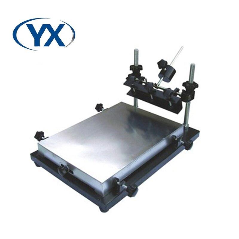 طابعة يدوية متوسطة الحجم منخفضة التكلفة رخيصة الثمن خط إنتاج للتجميع التلقائي Smt بالكامل