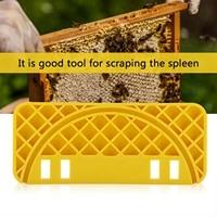 bee hive scraper %c2%a0abs bee hive flat equipment scraping tool for bee keeper honey pail yellow