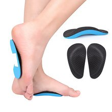 50-5Pair Orthopedic Insoles Flatfoot Corrector Shoe Insoles Insert Cushion Pad Foot Care Tools Shoes