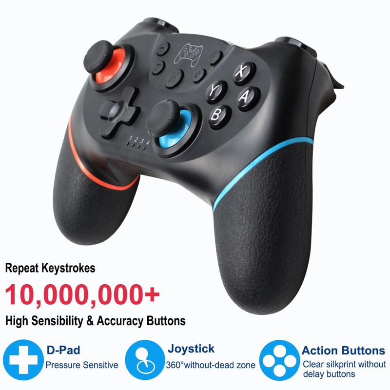 Wireless Support Bluetooth Gamepad for Nintend Switch Pro NS-Switch Pro Game Controller for Switch Console with 6-Axis Handle enlarge