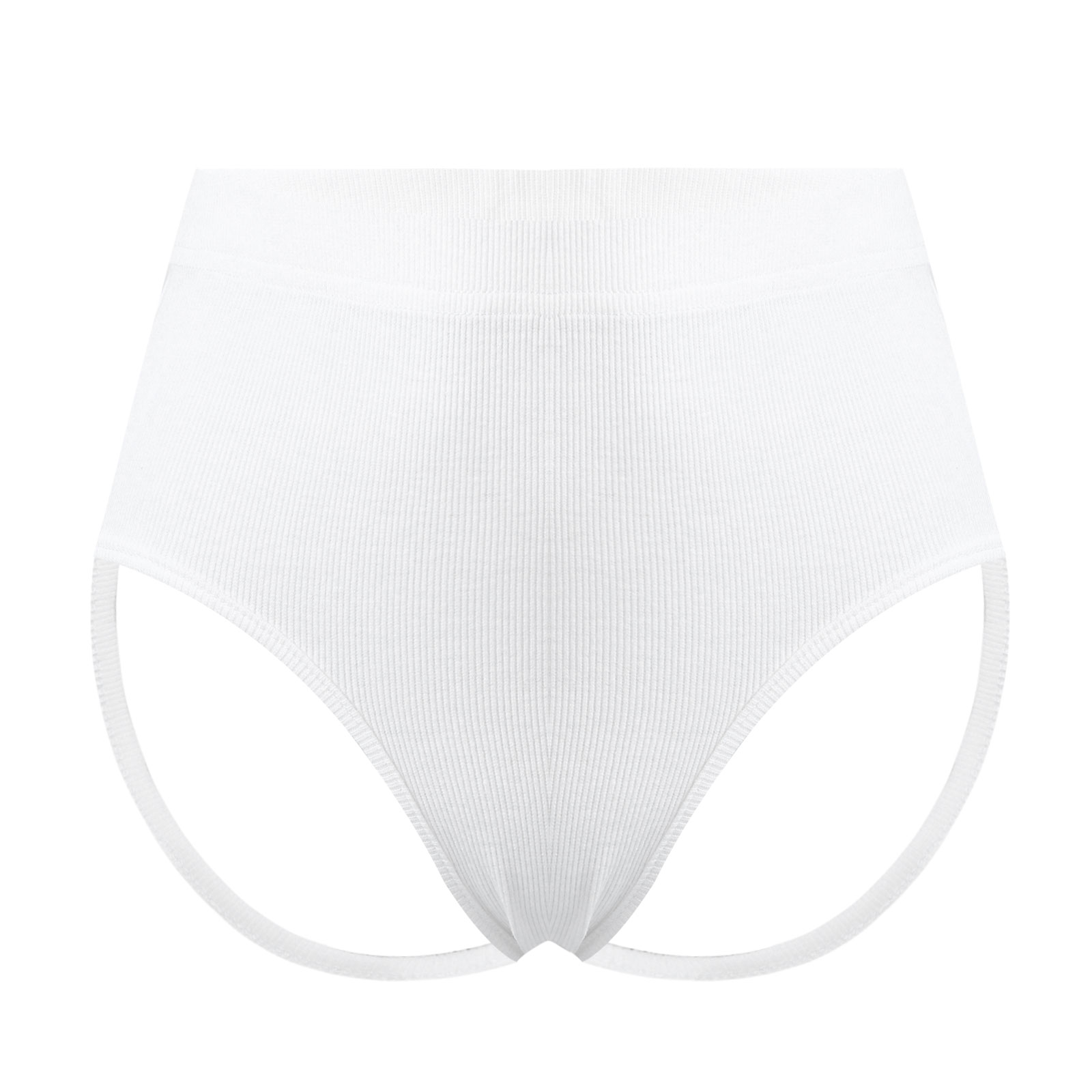 Pantalones cortos deportivos moldeadores para mujer, cintura alta, cintura elástica, bragas con...