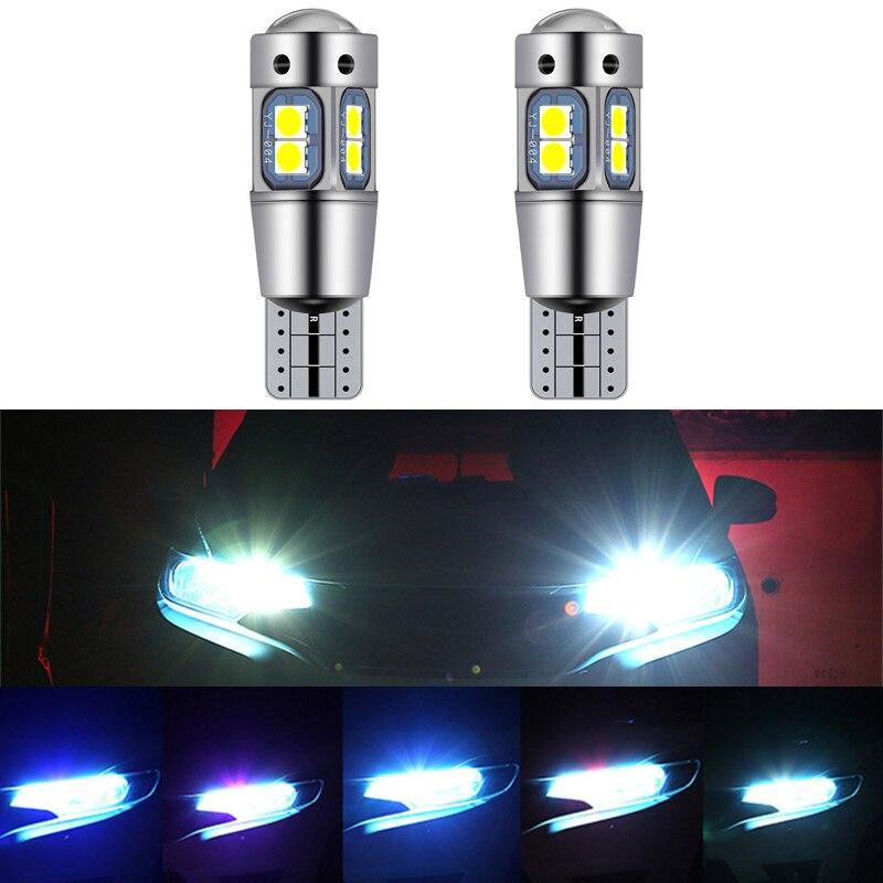 2 uds. Luces Led para coche T10 W5W 168 194 Canbus, luz para coche de distancia de seguridad para Great Wall Haval Coupe H7 H8 H2 H6 H9