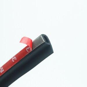 Image 3 - P Тип 1 8 м резиновая уплотнительная лента для автомобильной двери, шумоизоляция, уплотнительная лента для автомобильной двери, уплотнительная лента, резиновая противопыльная Автомобильная уплотнительная лента для дверей