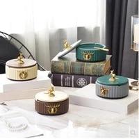 american style modern ceramic fashion ashtray home office restaurant bar desktop decoration supplies
