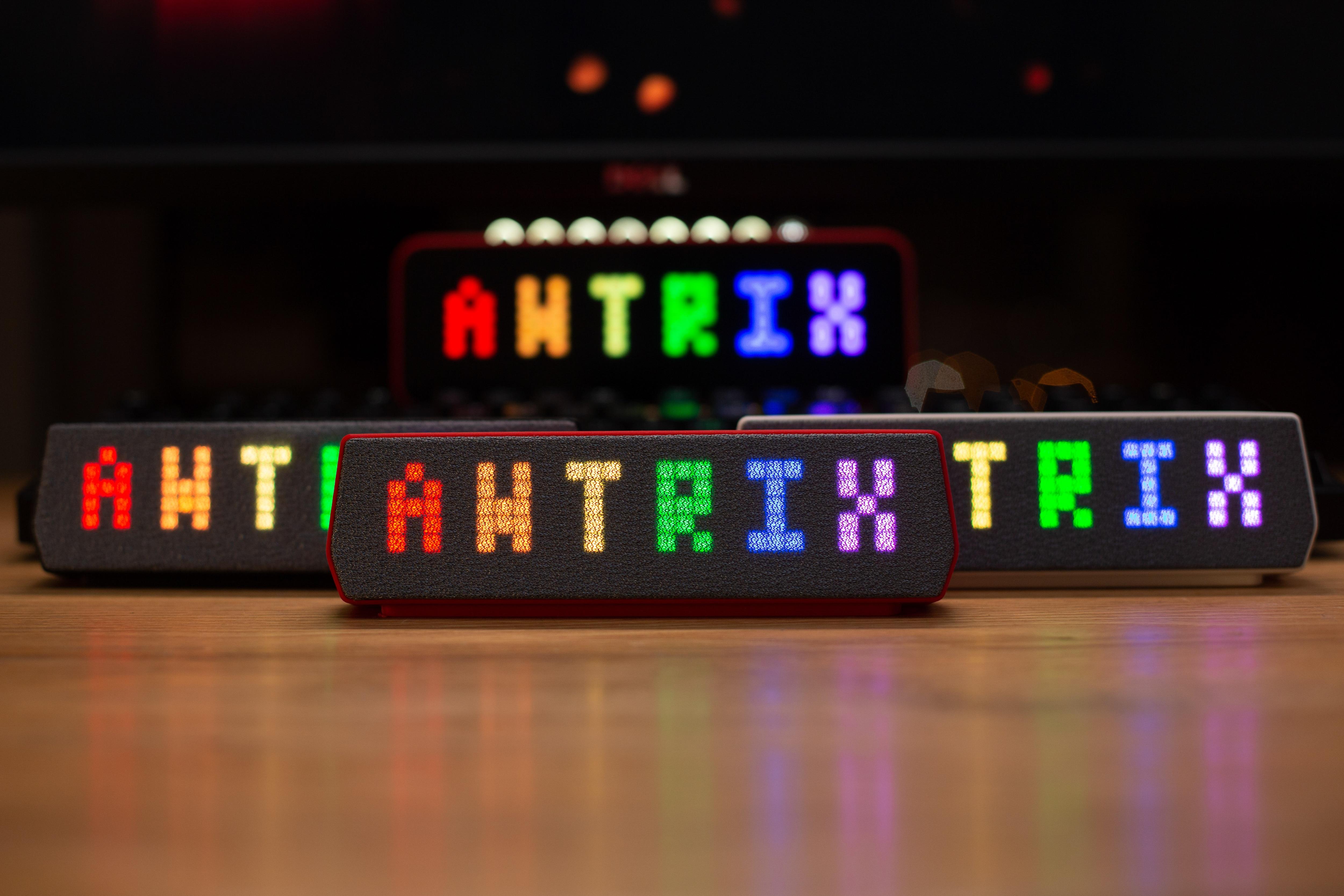 حجم صغير كامل وظيفة AWTRIX برو نقطة ملونة صغيرة مصفوفة مصباح بكسل مصباح بكسل