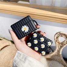 Mode GD Daisy fleur écouteur casque accessoire étui en silicone pour Airpods 1 2 Pro protection sans fil Bluetooth casque couverture