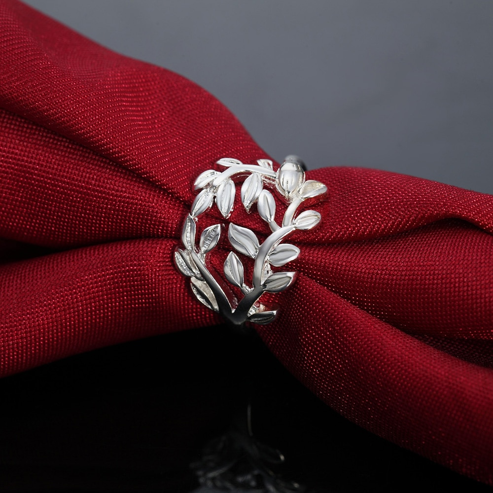 Новый-925-Серебряные-кольца-для-женщин-хорошее-ювелирное-изделие-в-ретро-стиле-Элегантные-листьев-Модные-вечерние-подарки-для-девочек-школ