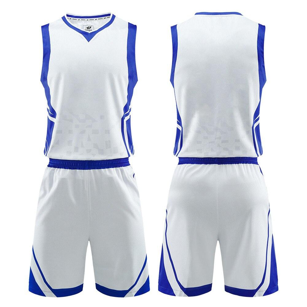 Camiseta de baloncesto Reversible para hombre, uniforme de baloncesto, sublimación, número de impresión, cesta de correo transpirable