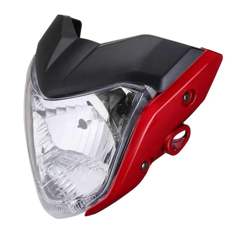 Montagem do farol da motocicleta lâmpada de luz cabeça para yamaha fz16 ys150 fzer150