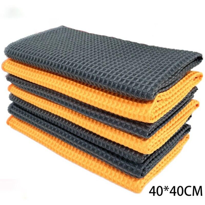 Фото - 2 шт., автомобильные салфетки из микрофибры хозяйственные товары azur салфетки из микрофибры 5 шт