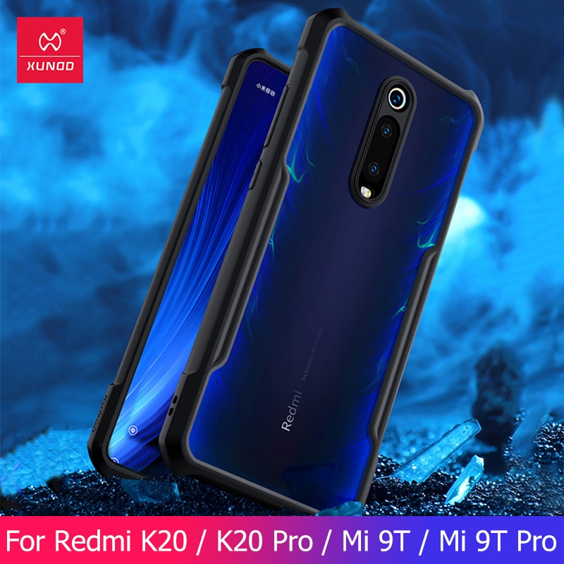 For Xiaomi Redmi K20 K20Pro Mi 9T Mi 9T Pro Case Protective Phone Case Mobile Cover Soft Shookproof Airbag For Mi Mi9T Pro Xundd недорого