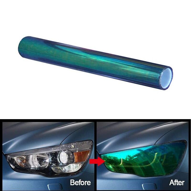 Luz trasera del faro del coche tinte de luz vinilo película pegatina para KIA Rio K2 Ceed Sportage Sorento Cerato Picanto Optima K3 Spectra K5